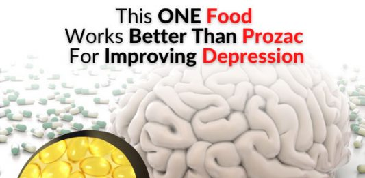 This ONE Food Works Better Than Prozac For Improving Depression