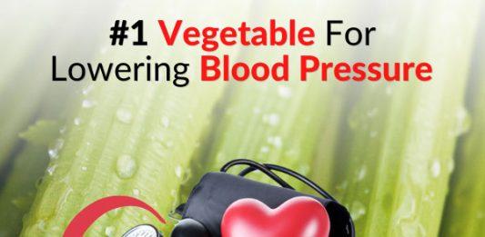 #1 Vegetable For Lowering Blood Pressure (no calories!)