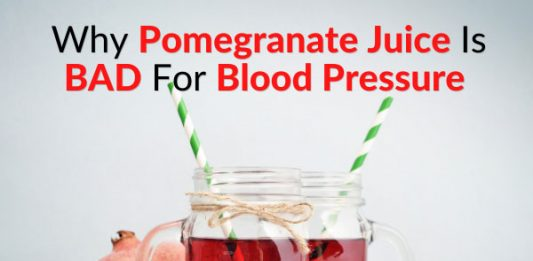 Why Pomegranate Juice Is BAD For Blood Pressure