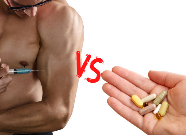 injections vs supplements