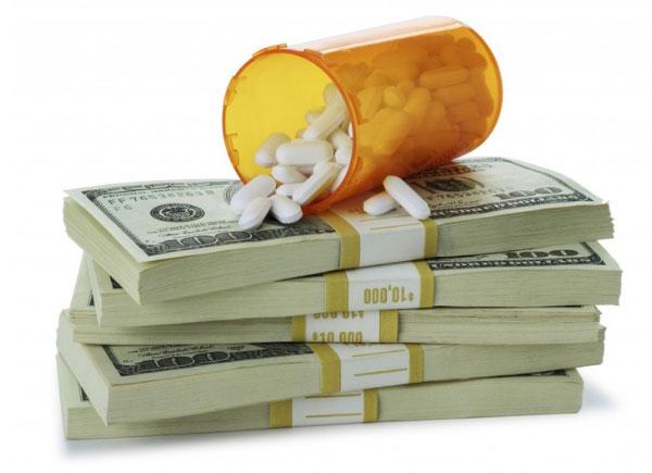 money and prescription drugs