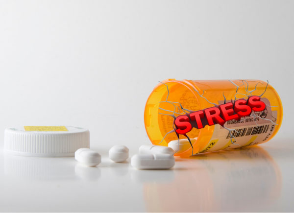 prednisone stress in bottle